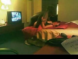 Blanco bbw folla amante negro en la habitación del hotel