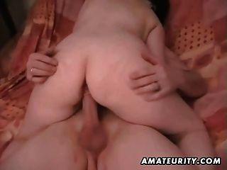 Chubby amateur esposa casero fucking acción