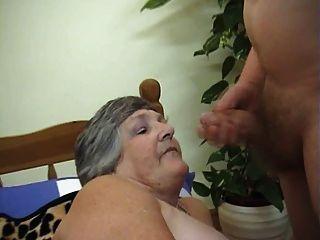 75 años abuela codiciosa libby 3some
