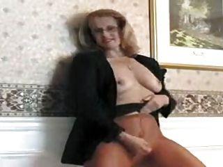 Secretaria de culo grande