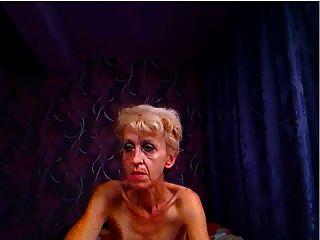 Fea abuela plantea para cam y pokes culo