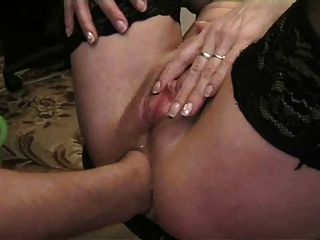 Milf caliente fisting anal