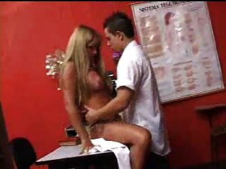 Hot shemale teacher fucks student