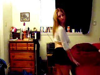Bailarina rubia titty grande