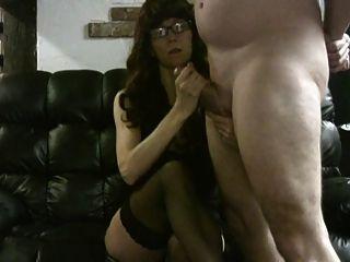 Handjob con orgasmo arruinado