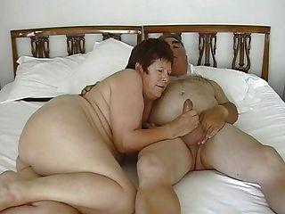 Lencería gf muestra botín antes de analsex