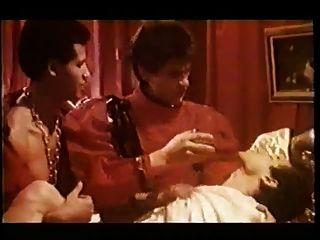 Vintage bisex orgía 80s