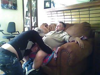 El twink étnico traga el cum redneck casado
