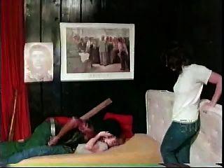 Chicas blancas con gordo negro interracial de 1976