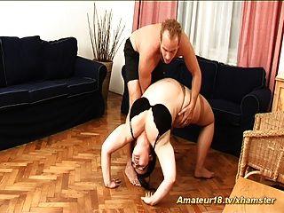 Chicas calientes gordas también extrema flexibilidad