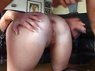 Sasha knox puta, anal rimming deepthroat buttplug diversión!