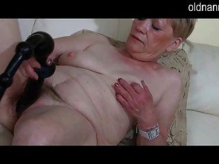 Abuelita y sexy regalo