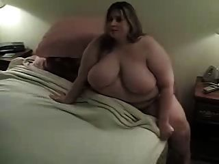 Hora de acostarse para ssbbw aficionado sexy