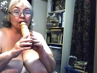 Enorme gran en una webcam r20