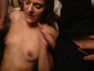 Chica francesa elsa gang bang