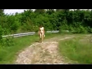 Nudista al aire libre alemán