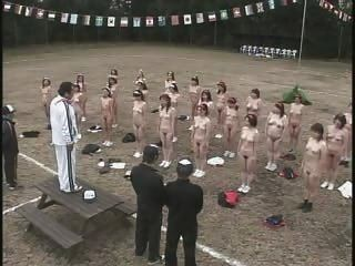 Mujeres japonesas maduras tira y ejercicio