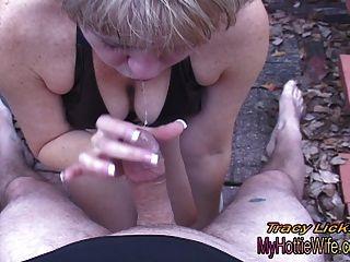 Tracy licks .... quiere chupar la polla !!Pov amateur video