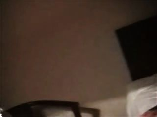 Córnea bbw ex novia masturbándose en una habitación de hotel