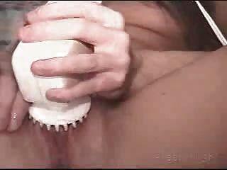 Amateur caliente m.i.l.f atrapado masturbándose por su bf