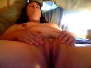 Un orgasmo muy necesario después del trabajo.