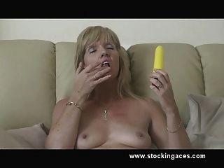 Zorra de la media jill pussy play