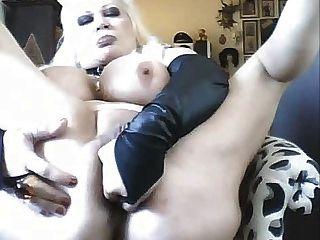 Sexy boob grande madura en la leva (lagging mayor lo siento)
