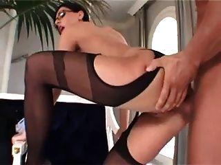 Eva negro sexy milf anal