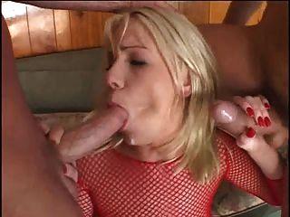 Penetración anal anal doble