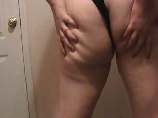 Lateshay 36 f tits rojo mini falda tira tease dick pleaser
