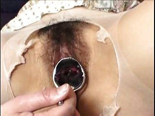 G punto orgasmo se extiende con el espéculo