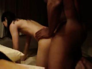Hombre hacer una película mientras su esposa tiene sexo con bbc