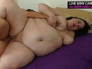 Grandes fattie gal fucks y chupa gordas gordas tetas bbw