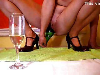 Diversión de champán