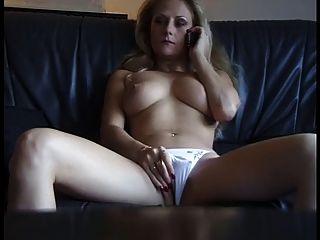 Sexy madura perra obtener cachonda de phonesex