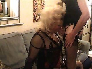Mamada transexual