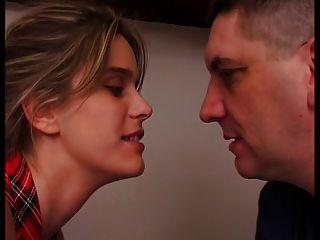 Mujer francesa es fucking infront de su marido