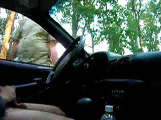 Masturbarse en el coche