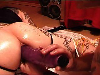 Tatuado esclavo gigante anal consoladores
