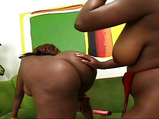 Negro, caliente y busty lezzies i