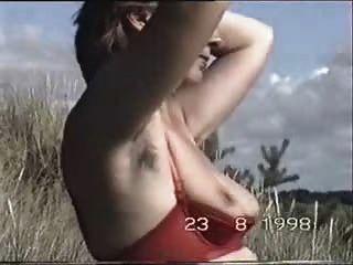 Mujer pelirroja de las axilas marion busch part2