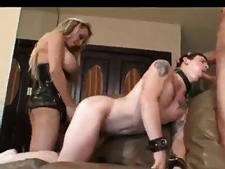 Bisexual ella es la jefa en este vid