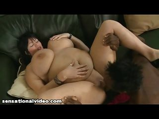 Bbw wife sucks pizza guy 4