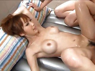Yuki mizuho y karin asamiya masaje húmedo 4 = fd1965 =