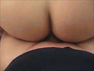 Amateur bubble butt se anal en casa real