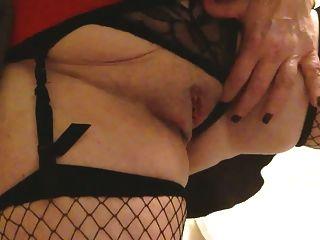 Sexy granny grandes tits masterbates chorros y cums