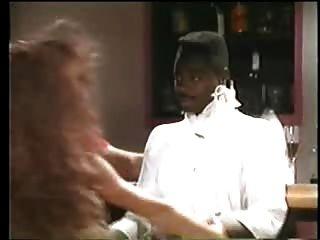 Sexy brunette stripper quiere negro guy vintage interracial