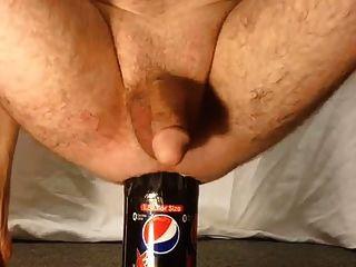 Botella de 1,5 litros inserción anal masculina