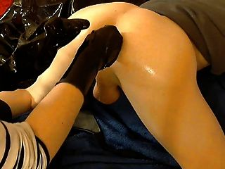 Fisting anal doble 2