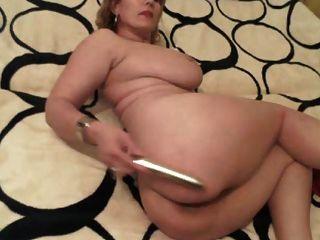Sexy rubia madura